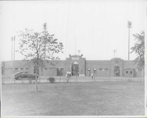 Holman Stadium in 1950